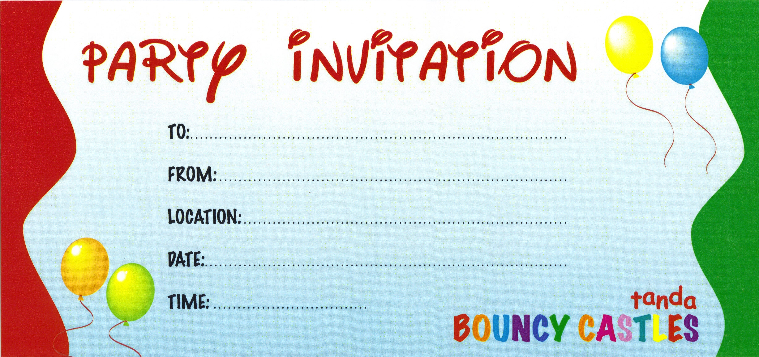 design birthday party invitations free ; free-party-invitations-to-design-your-own-Party-invitation-in-outstanding-styles