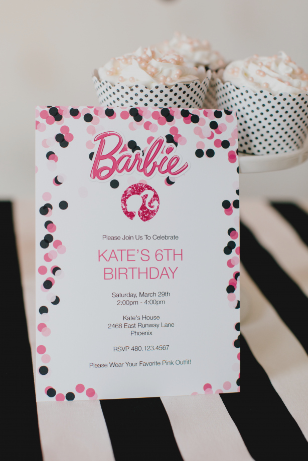 design my own birthday party invitation ; latest-of-design-my-own-party-invitations-for-free-barbie-birthday-with-printable-designs