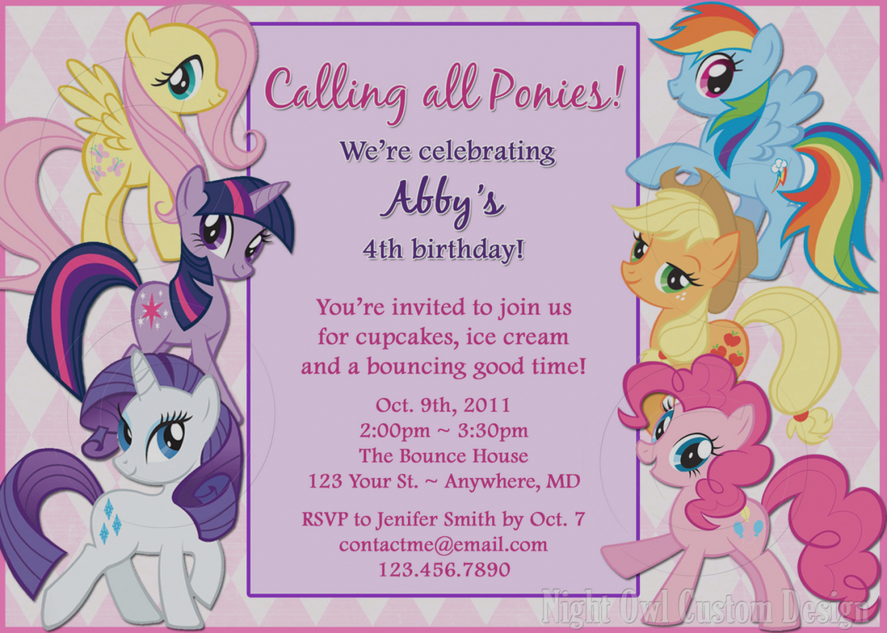 design my own birthday party invitation ; pictures-of-design-my-own-party-invitations-for-free-little-pony-birthday-ideas-girl-bagvania-free