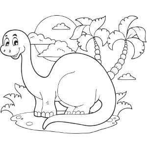 dinosaur birthday coloring pages ; 4d1c0696bcd9ea522243b9438459a70f