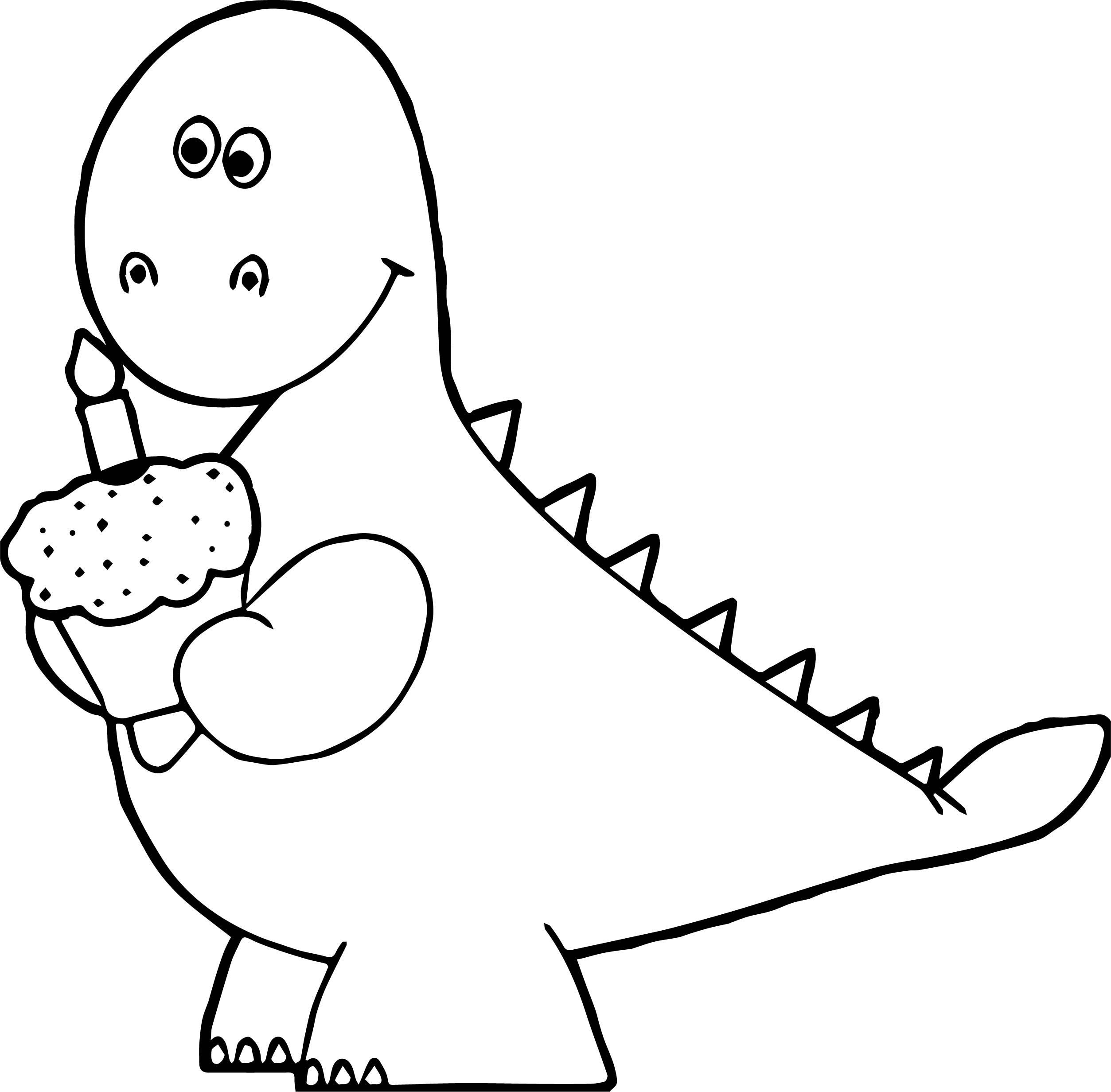 dinosaur birthday coloring pages ; birthday%2520cupcake%2520coloring%2520page%2520;%2520Orange-Dinosaur-Birthday-Cupcake-Coloring-Page