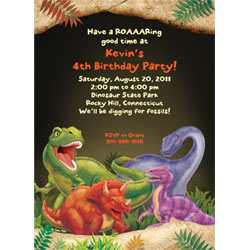 dinosaur birthday invitations with photo ; 008c585e1b2ddedf2e64b4ab2db9b8fb