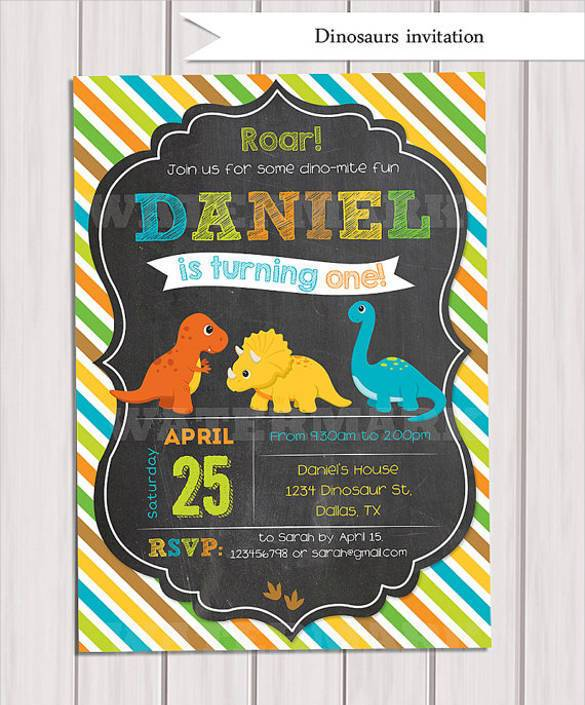dinosaur birthday invitations with photo ; Digital-Dinosaur-Birthday-Invitation-Template31