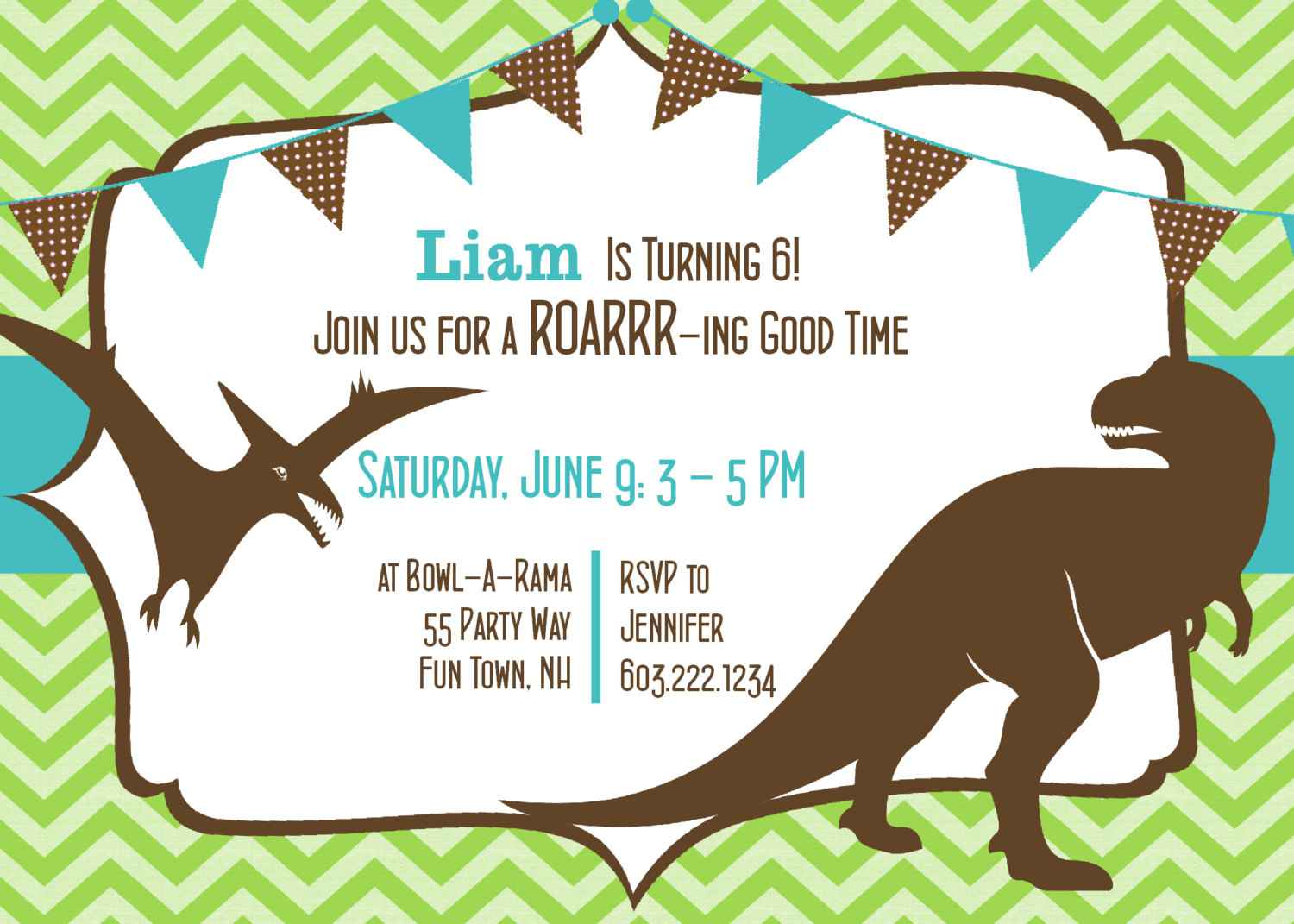 dinosaur birthday invitations with photo ; Dinosaur-Birthday-Invitations-Free-Printables