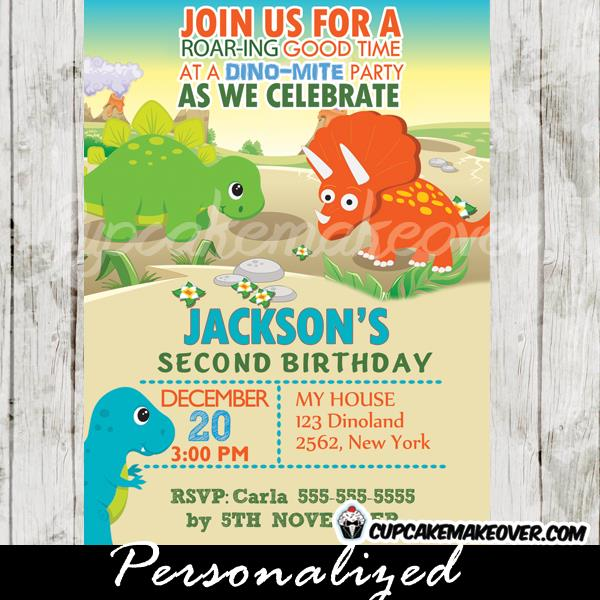 dinosaur birthday invitations with photo ; Dinosaur-birthday-invitations-and-get-ideas-how-to-make-adorable-birthday-invitation-appearance-19