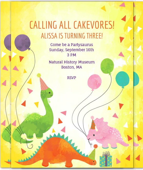 dinosaur birthday invitations with photo ; dinosaur-birthday-invitation-template-30-free-psdepsjpg-dinosaur-birthday-invitations-1