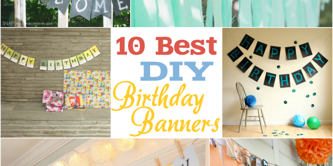 diy birthday poster ; best-diy-birthday-banners-featured-image