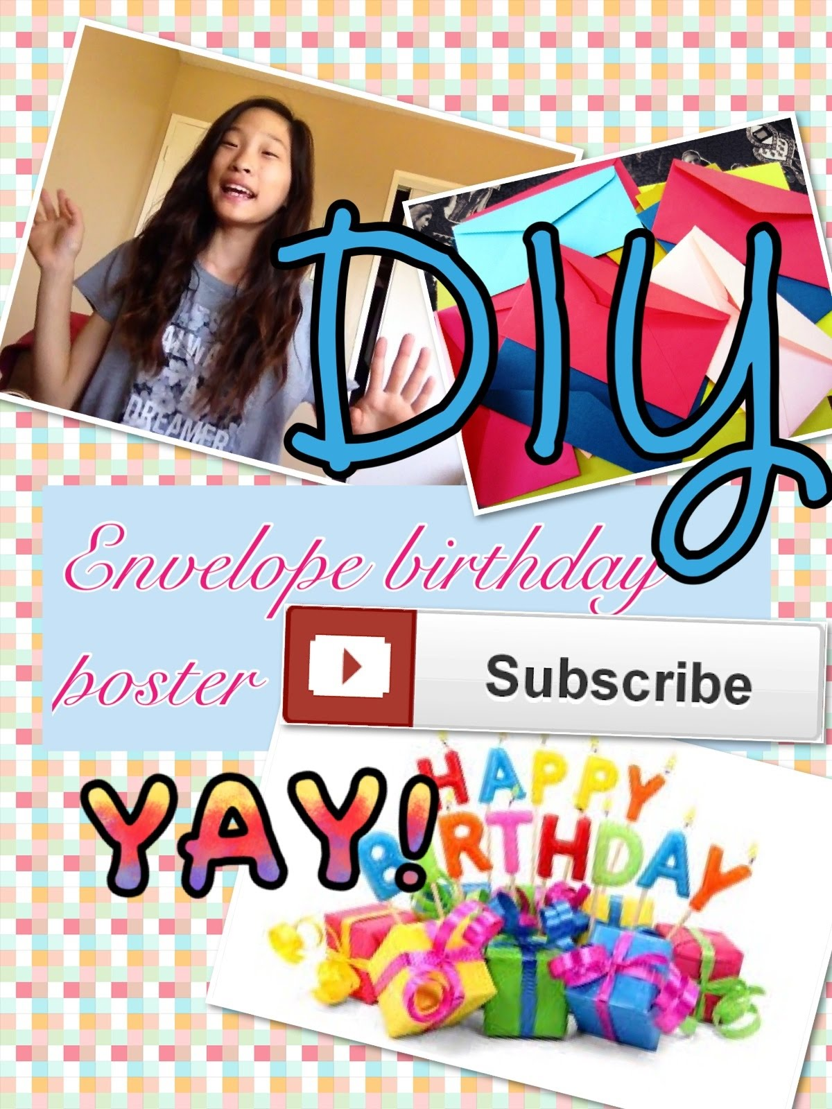 diy birthday poster ; maxresdefault