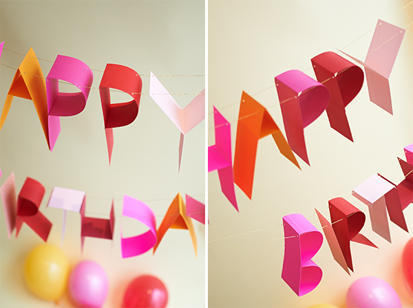 diy birthday poster ; pair2