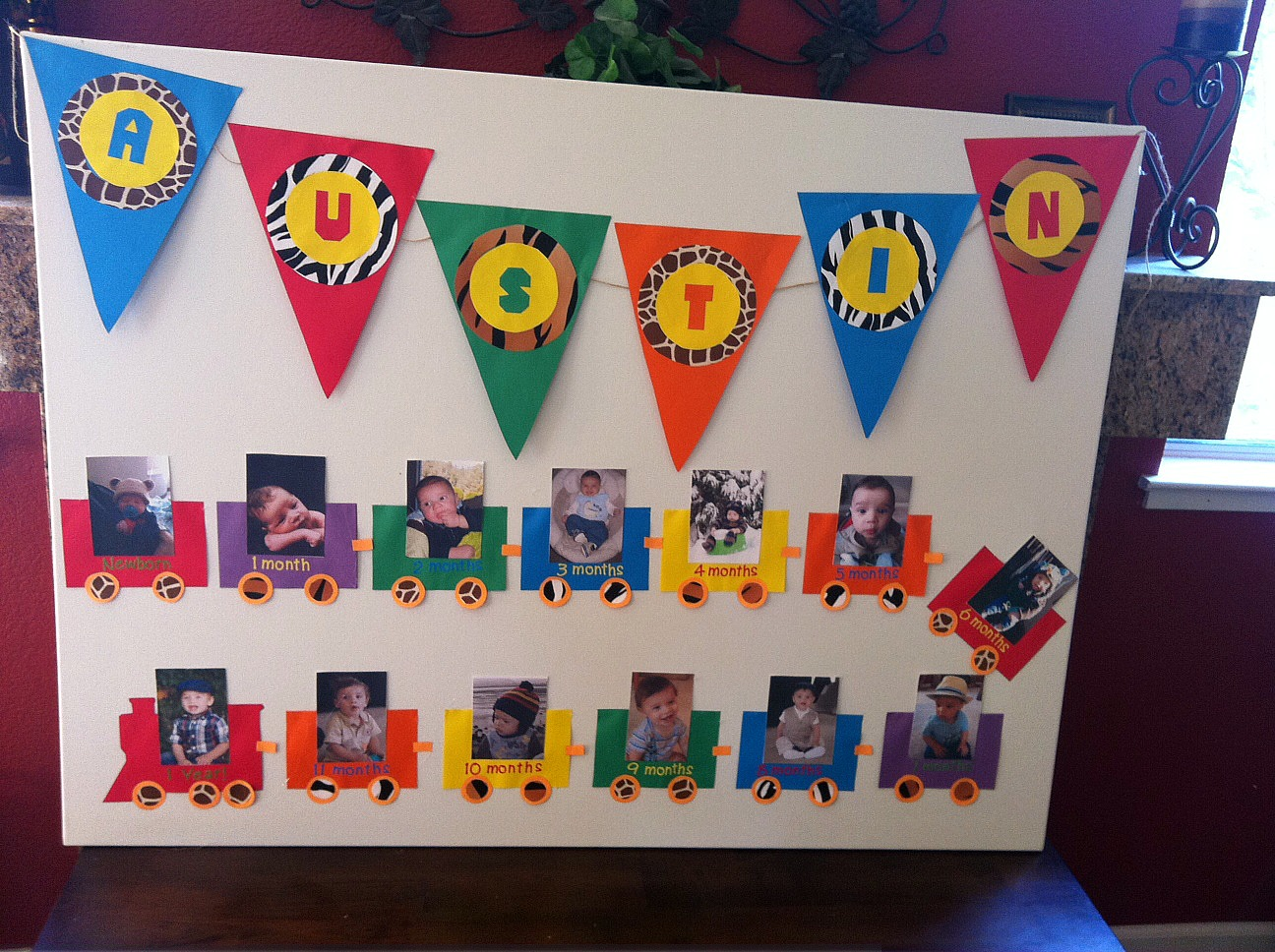 diy birthday poster ; photo-22