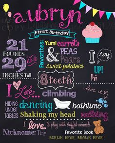 diy first birthday chalkboard poster ; 3eb7573cb77c3699b3f9e755b48d365c--e-invitations-first-birthday-chalkboard