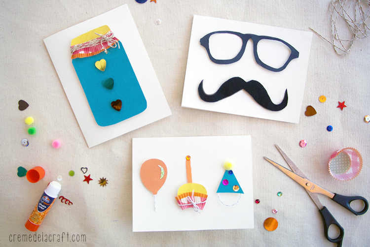 diy greeting cards for birthday ; DIY-Project-Craft-Idea-How-To-Make-Cards-Birthday-Mothers-Fathers-Day-Anniversary-Wedding