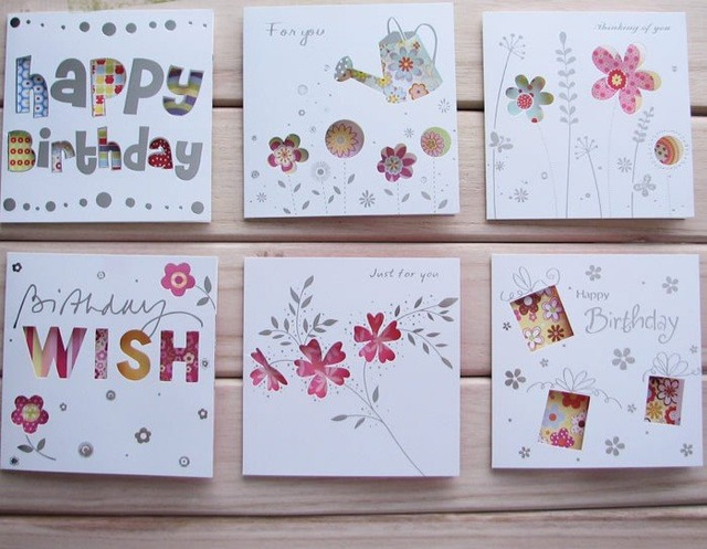 diy greeting cards for birthday ; DIY-greeting-cards-birthday-cards-christmas-cards-500pcs-lot-Free-shipping