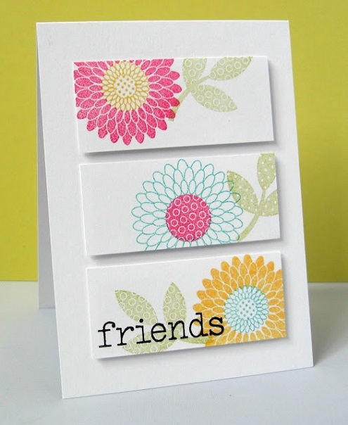 diy greeting cards for birthday ; Handmade-birthday-card-for-friends-4