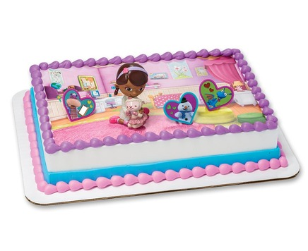 doc mcstuffins birthday sheet cake ; 18646_m