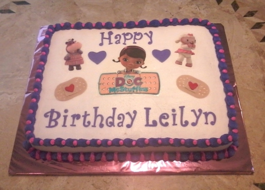 doc mcstuffins birthday sheet cake ; 900_816192vkCV_doc-mcstuffins-birthday-cake