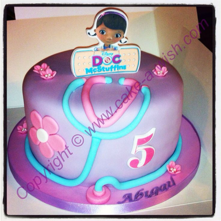 doc mcstuffins birthday sheet cake ; doc-mcstuffins-birthday-cake_369892