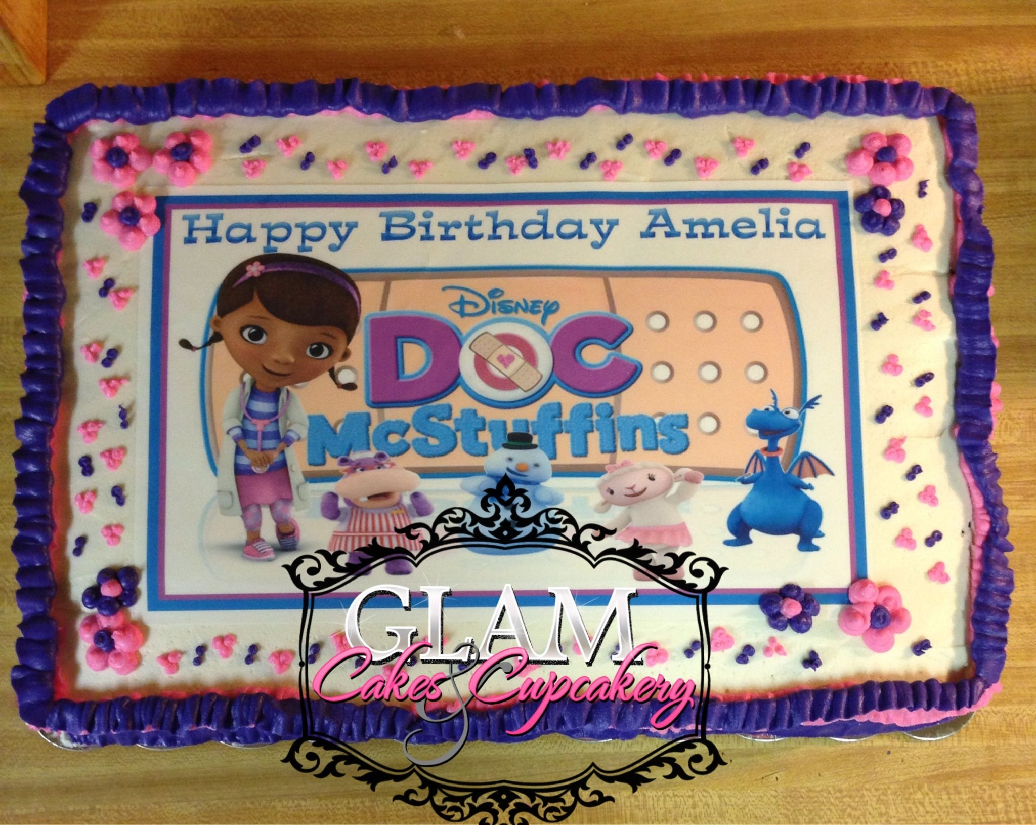doc mcstuffins birthday sheet cake ; doc-mcstuffins-decorations-best-of-doc-mcstuffins-sheet-cake-glamcakescupcakery-of-doc-mcstuffins-decorations