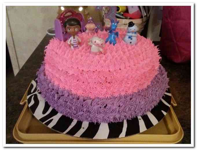 doc mcstuffins birthday sheet cake ; doc-mcstuffins-homemade-birthday-cake