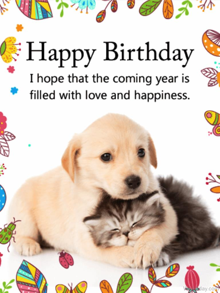 dog wishing happy birthday ; I-Hope-That-The-Coming-Year-Is-Filled-With-Love