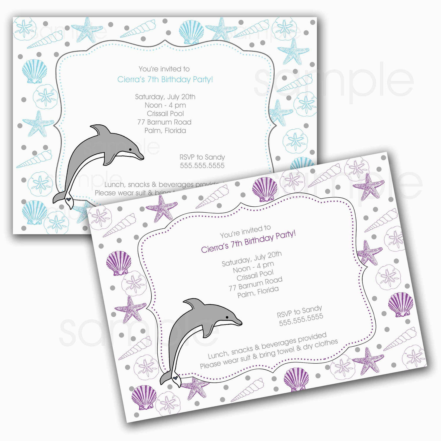 dolphin birthday invitations printable ; printable-dolphin-birthday-party-invitations-dolphin-birthday-party-invitations