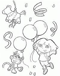 dora birthday coloring pages ; 06556b31d1c46fac8d5334872a957eed--dora-piper