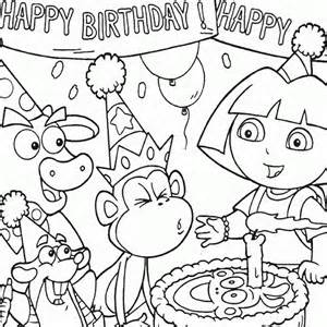 dora birthday coloring pages ; 565de7f6c9b72554f5eb4c99ab31ef46