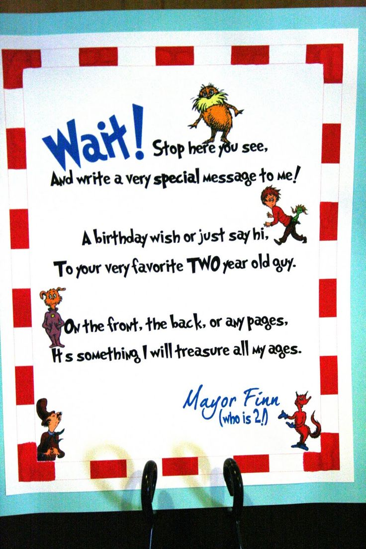 dr seuss happy birthday sign ; 298ab400d962618983640ca5a5553a28--birthday-guest-books-dr-seuss-birthday-party