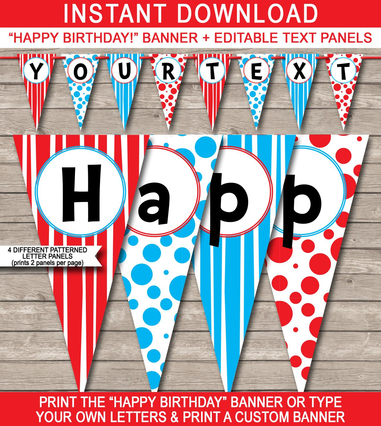 dr seuss happy birthday sign ; Dr-Seuss-Banner-Template-Happy-Birthday-Banner-editable-text