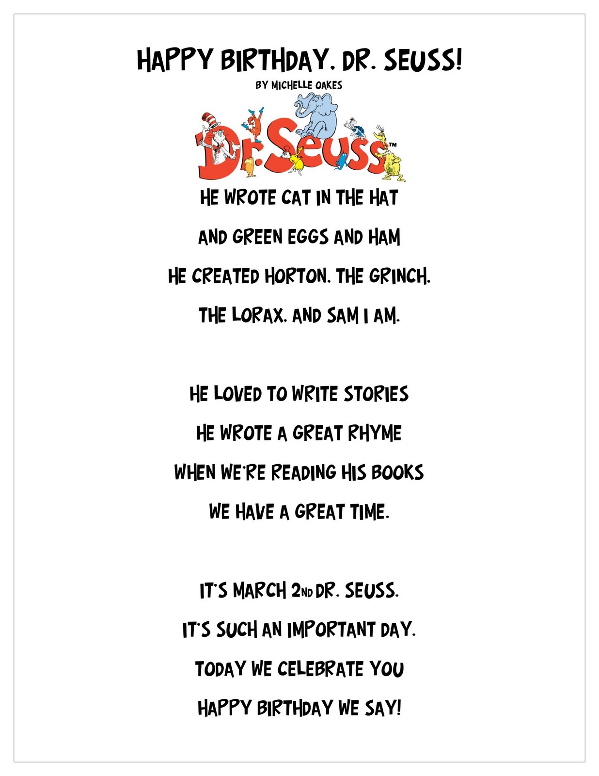 dr seuss happy birthday to you quotes ; 0001AQ