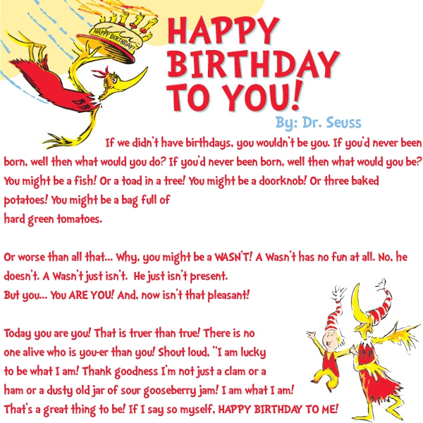 dr seuss happy birthday to you quotes ; d7beada21213c987eb9fced2009d5676