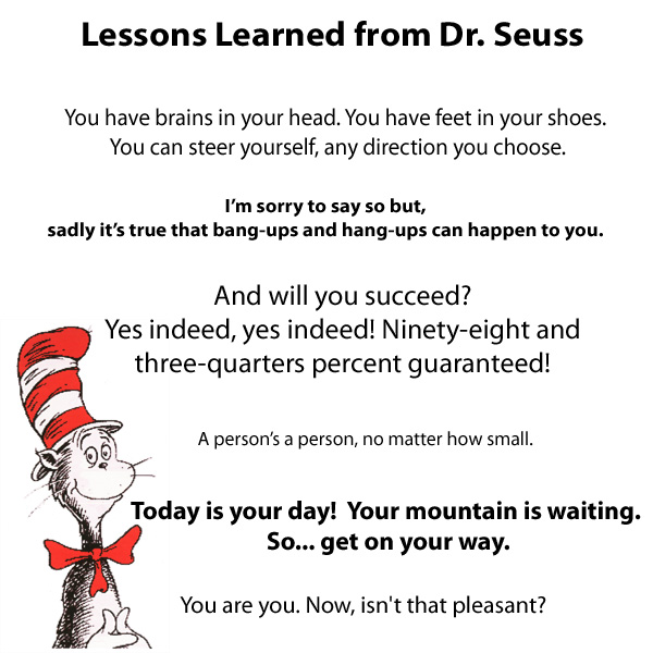 dr seuss happy birthday to you quotes ; dr-suesslessons