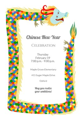 dragon birthday invitations printable ; a-dragon-printable-chinese-new-year-invitation-template_a-dragon-free-printable-chinese-new-year-invitation-templ-on-modern-chinese-wedding-invitations