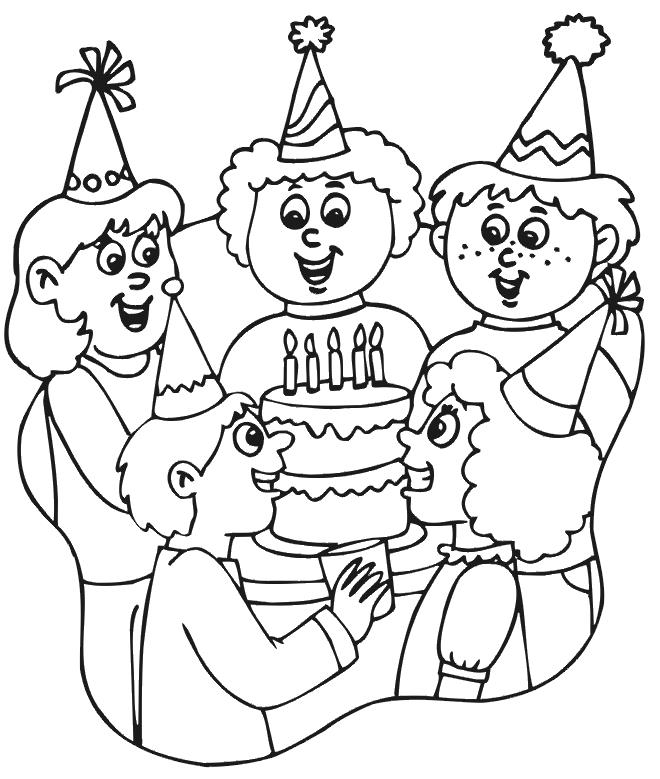 drawing of birthday scene ; drawing-of-birthday-scene-ab2910c9c4e75d7581d5e9fb8fc20479