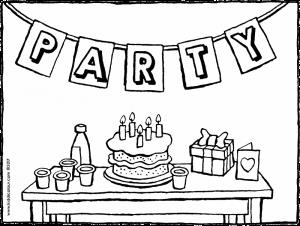 drawing of my birthday party ; are-you-coming-to-my-birthday-party-coloring-page-01k-300x226