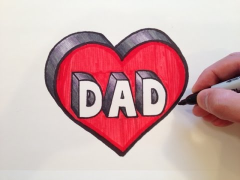 drawings for dads birthday ; hqdefault