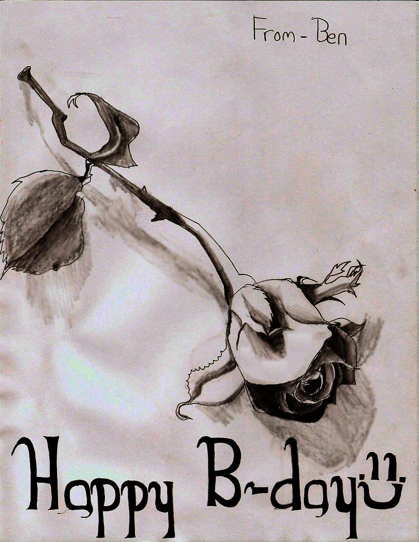 drawings for mother's birthday ; Rose___Mom__s_B_day_by_swiblet