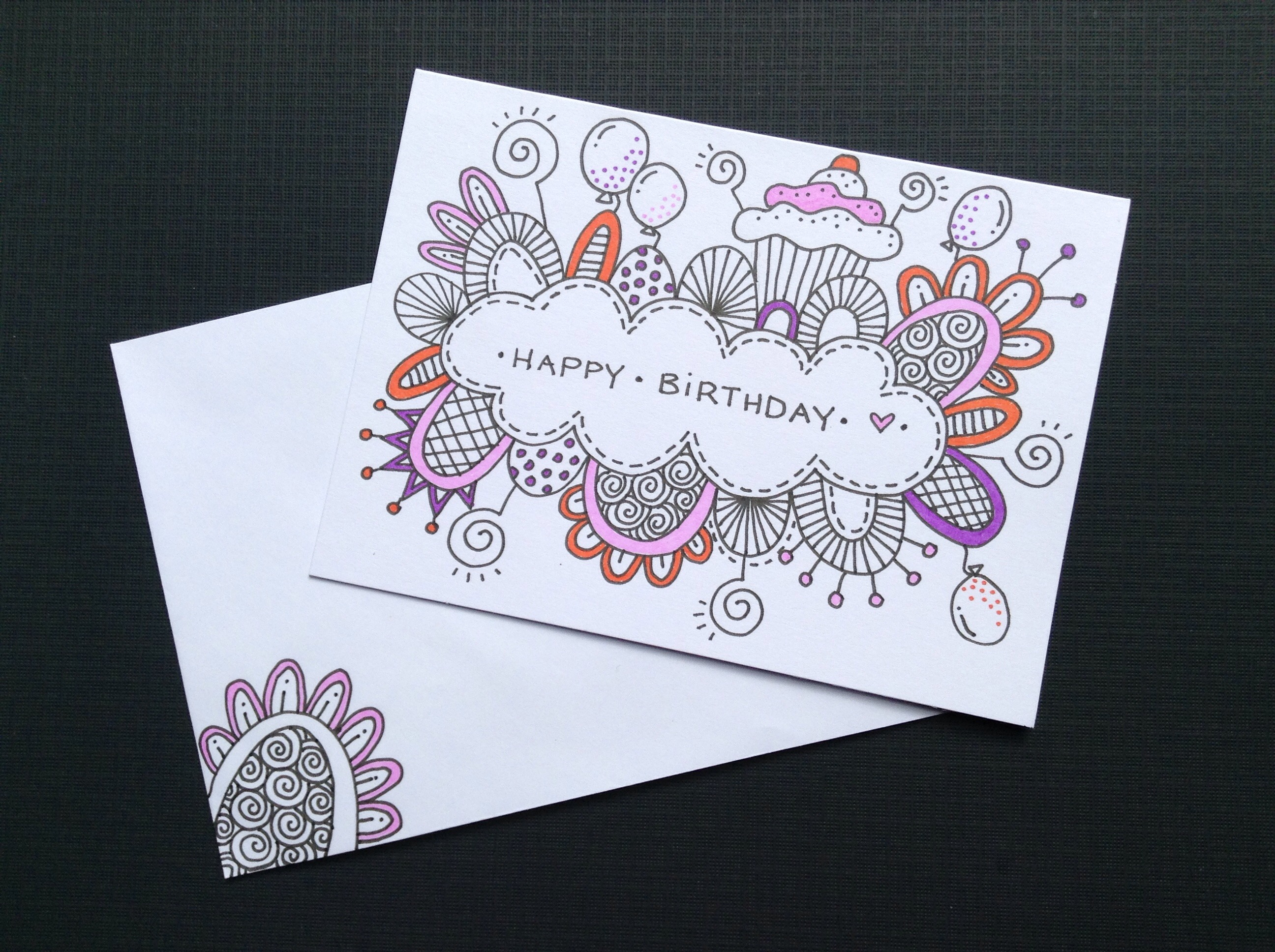 drawings for mother's birthday ; birthday-card-drawing-ideas-25-best-ideas-about-hand-drawn-cards-on-pinterest-love-cards-1