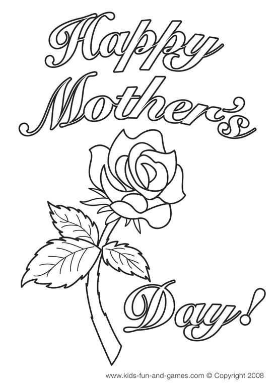 drawings for mother's birthday ; happy-mothers-day-drawing-22