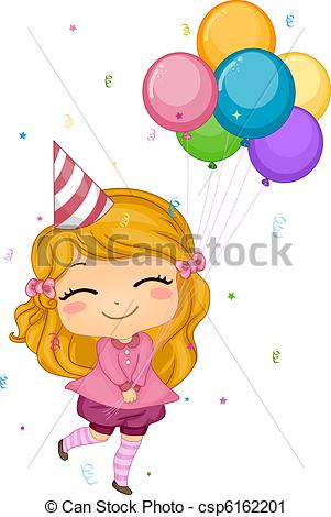 drawings of birthday balloons ; birthday-balloons-clipart_csp6162201