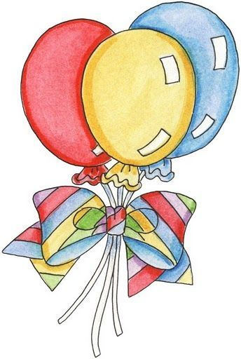 drawings of birthday balloons ; ed2aa204ce2dc7c707c316a8cb89e801