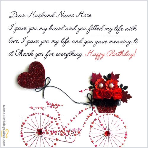 e greeting cards for birthday for husband ; birthday-wishes-for-husband-with-photo-name-editor_738ab