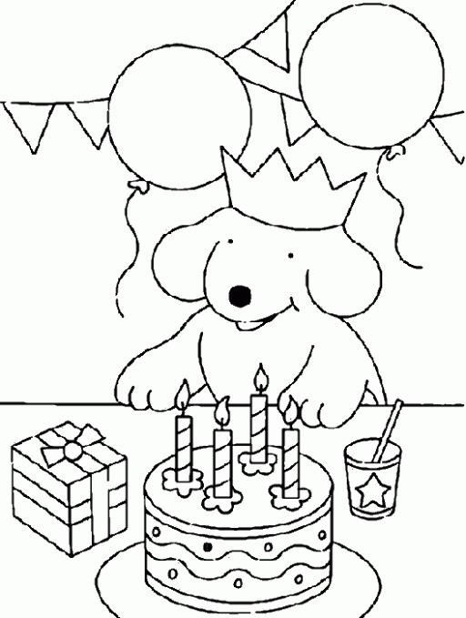 easy drawing of birthday party ; b85390ead139c716e98ddda1e9cb7889