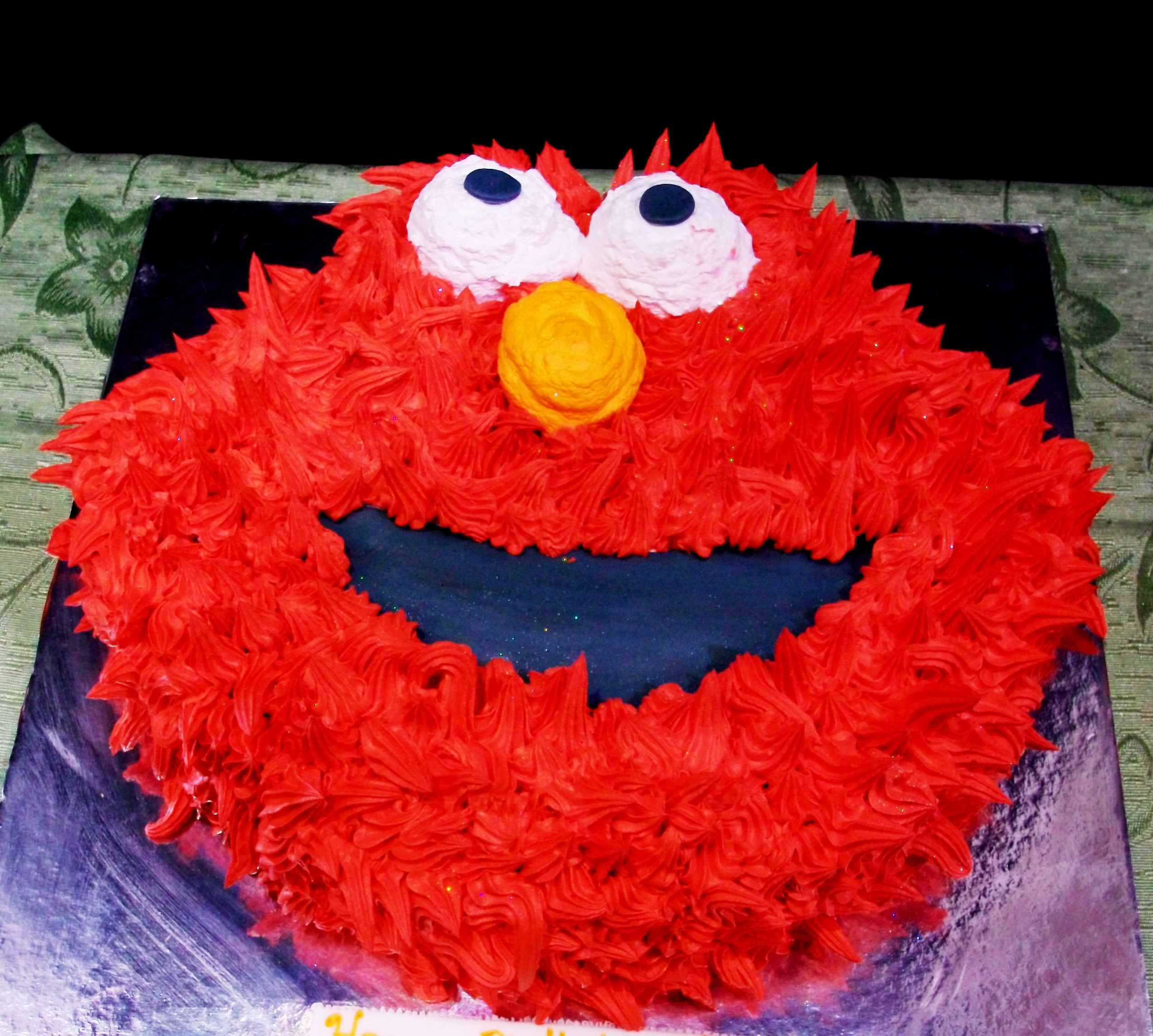 elmo birthday cake edible image ; Elmo-Birthday-Cake-Ideas