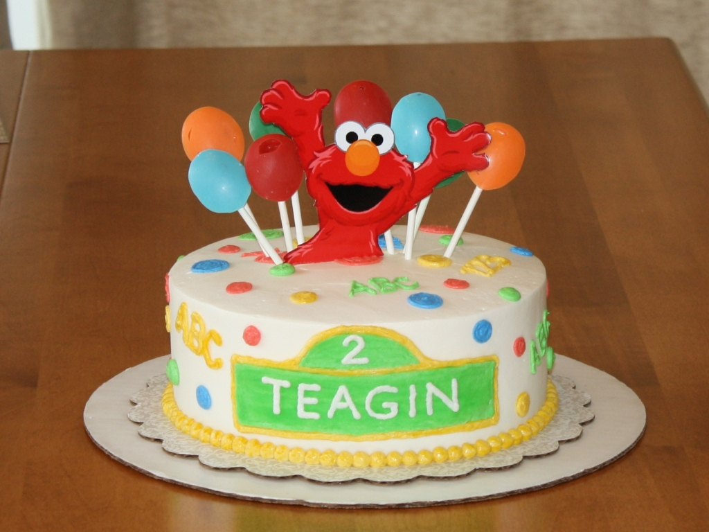 elmo birthday cake edible image ; Elmo-Birthday-Cakes-Pictures