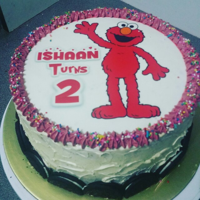 elmo birthday cake edible image ; birthday_cake_edible__elmo_1518534384_2e6dc88c