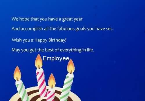 employee birthday card messages ; Best-Meassge-Birthday-Wishes-For-Employee-E-Card