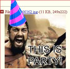 epic happy birthday ; 4chan-party