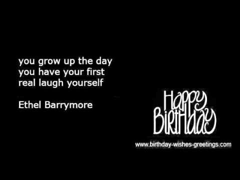 famous birthday quotes for friends ; hqdefault