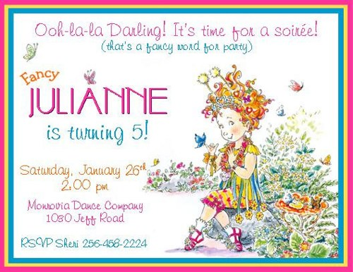 fancy nancy birthday invitation template ; 12_printed_fancy_nancy_inspired_personalized_birthday_invitations_-_various_styles_available_8f9d7f7b